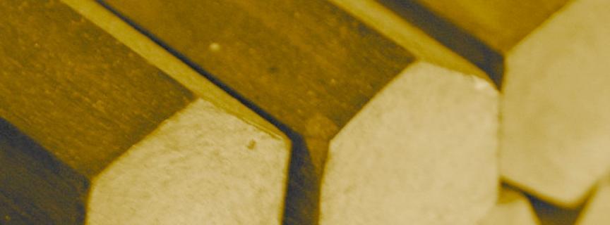 Шестигранник бронзовый