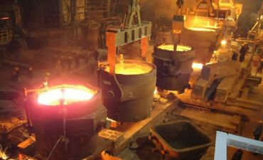 Новая печь-ковш ЧерМК